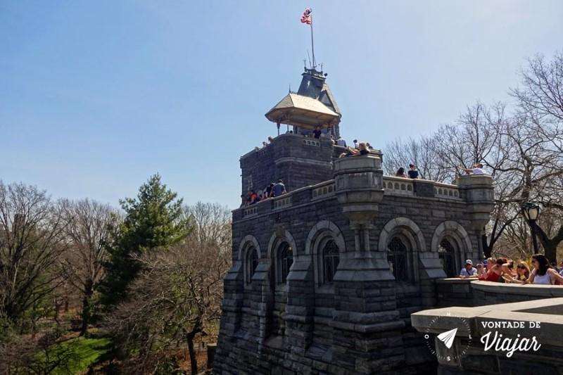Nova York Central Park - Belvedere Castle
