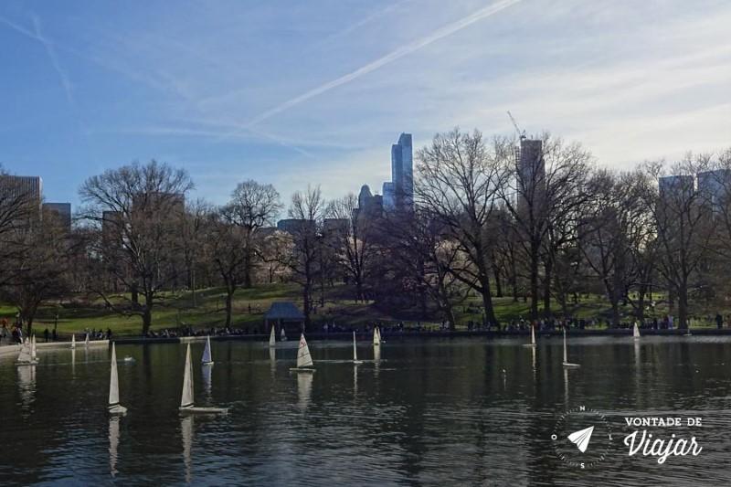 Nova York Central Park - Conservatory Water