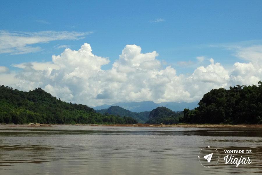 Rio Mekong - Da Tailandia para o Laos
