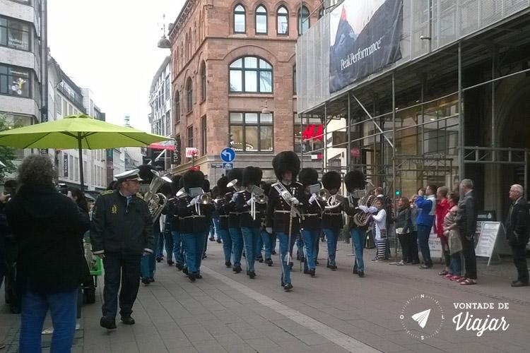 O que fazer em Copenhague - guarda real