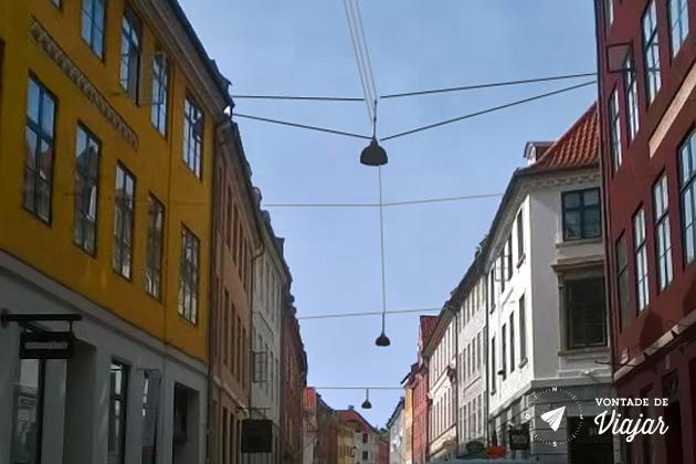 O que fazer em Copenhague - ruas do centro