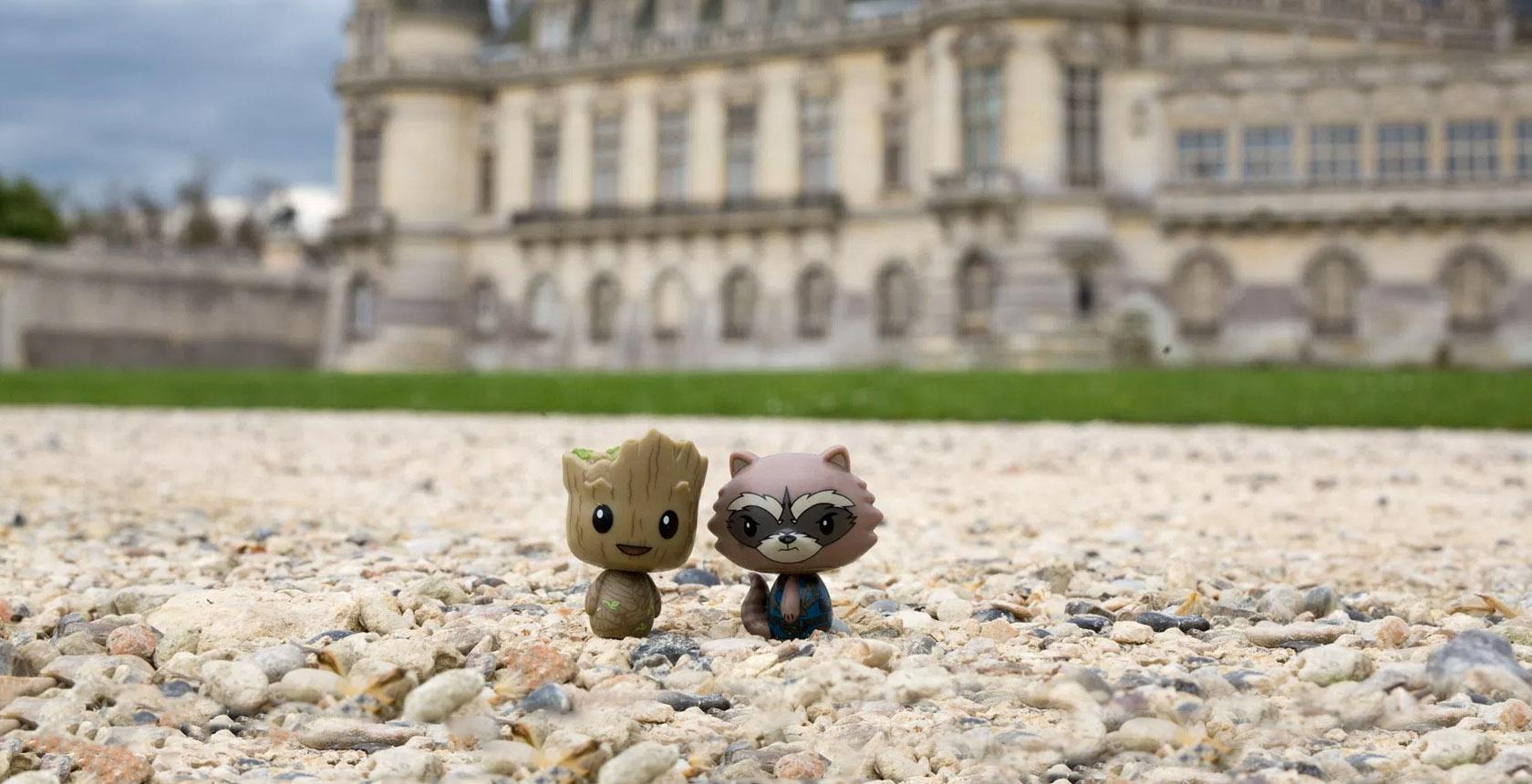 Discret - Toy photography em Paris bonecos miniatura - blog Vontade de Viajar