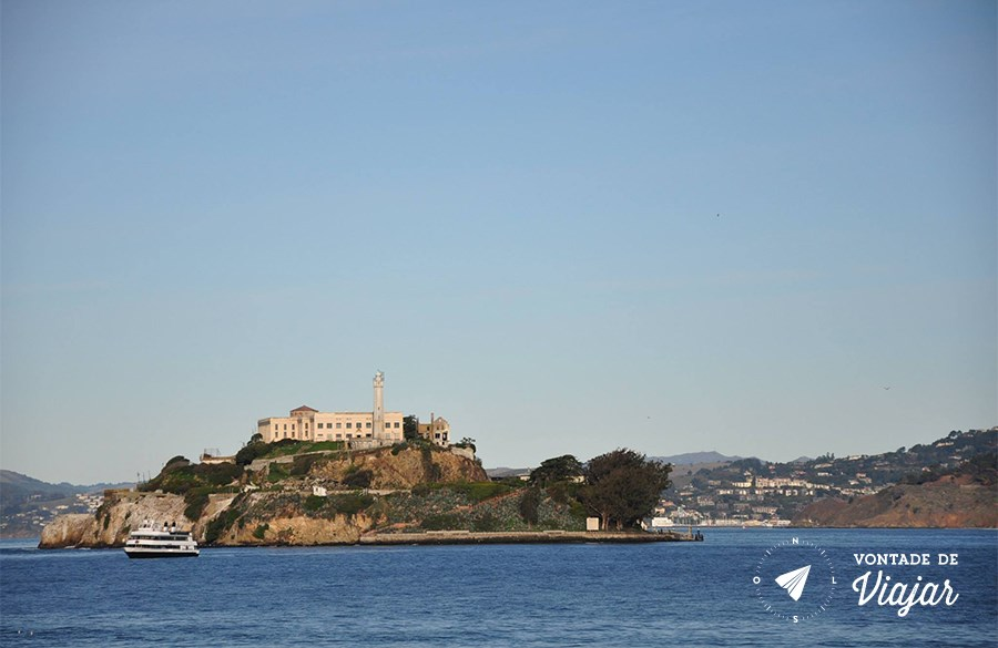 Alcatraz - Ilha de Alcatraz em San Francisco - foto Ulysses Vilela