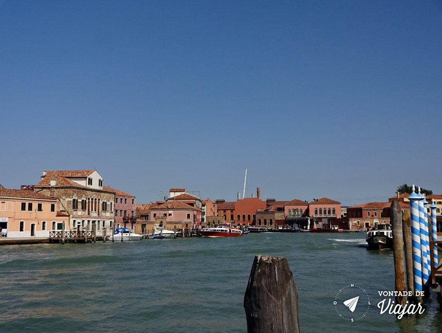 Ilhas de Veneza - Canal na ilha de Murano