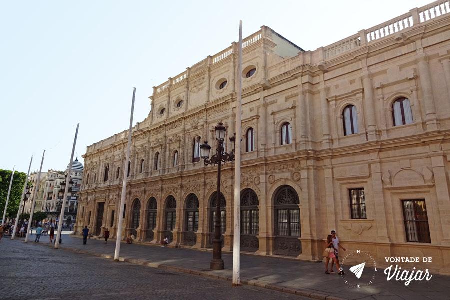 Hostel em Sevilha - Prefeitura Ajuntamento de Sevilha