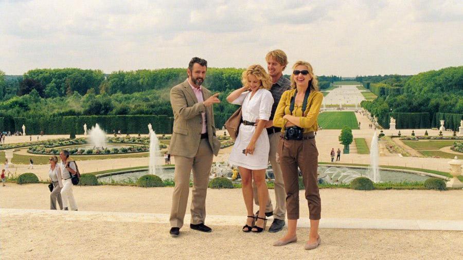 Meia noite em Paris - Palacio de Versailles