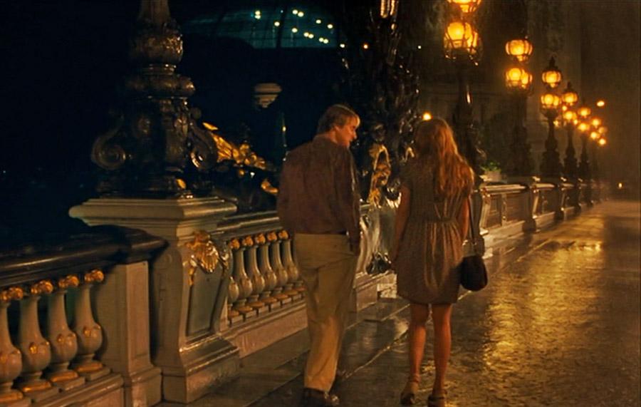 Meia noite em Paris - Ponte Alexandre III