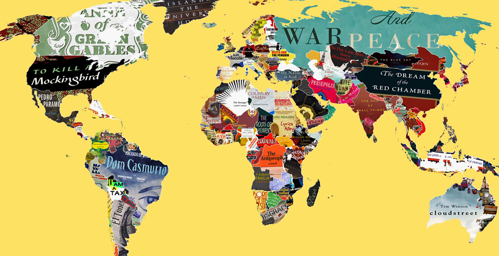Mapas literários para expandir seus horizontes