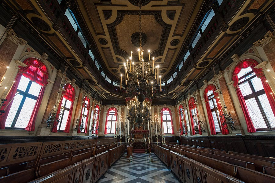 Bairro judaico de Veneza - Sinagoga Espanhola - Foto Angel Lion Venice