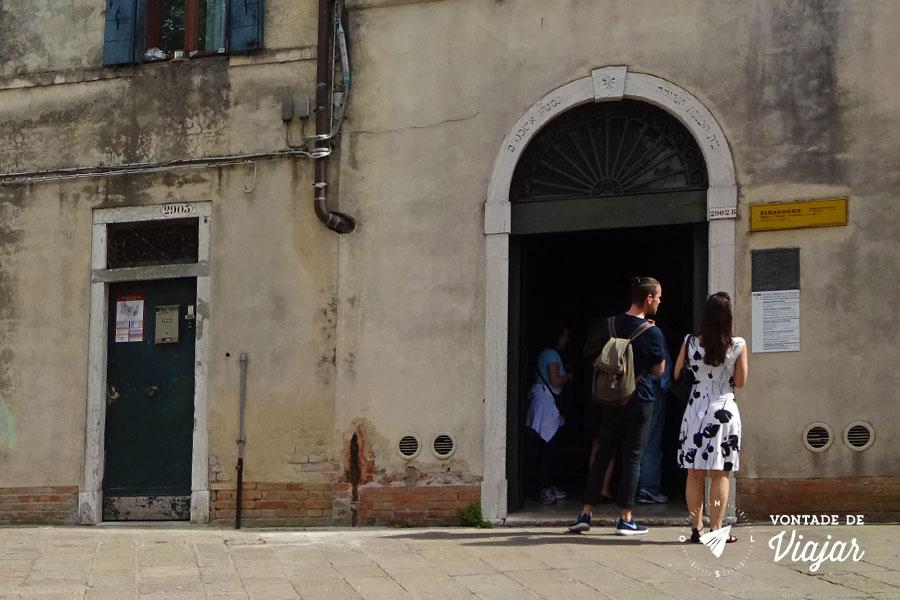 Ghetto Nuovo em Veneza - Museu Hebraico no bairro judaico