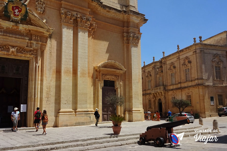 Mdina de Malta - Catedral de Sao Paulo Mdina