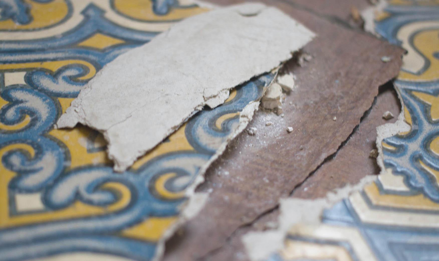 Tenement Museum - Piso danificado no predio 103