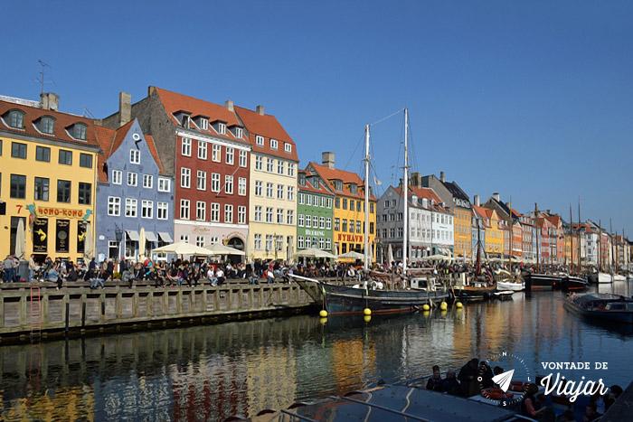 O que fazer em Copenhague - Nyhavn porto - Foto Ludmila Ravazi