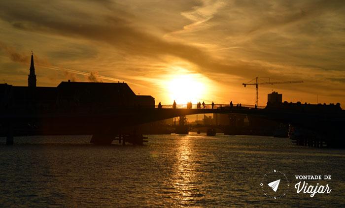 O que fazer em Copenhague - Por-do-sol - Foto Ludmila Ravazi