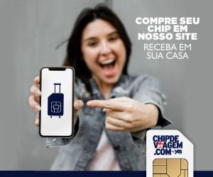 viaje conectado com chip internacional